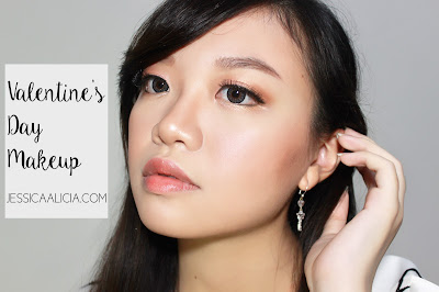 Tutorial Makeup untuk Valentine's Day by Jessica Alicia