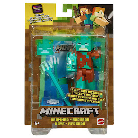 Minecraft Drowned Survival Mode Figure