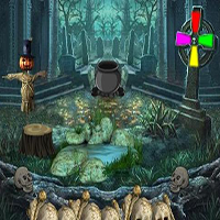 Play 8bGames Duck Witch Escape