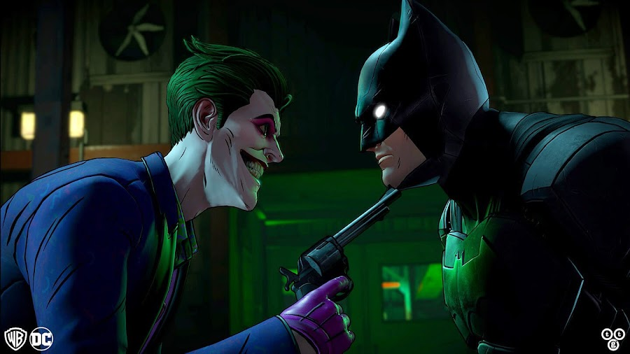 telltale game batman vs joker