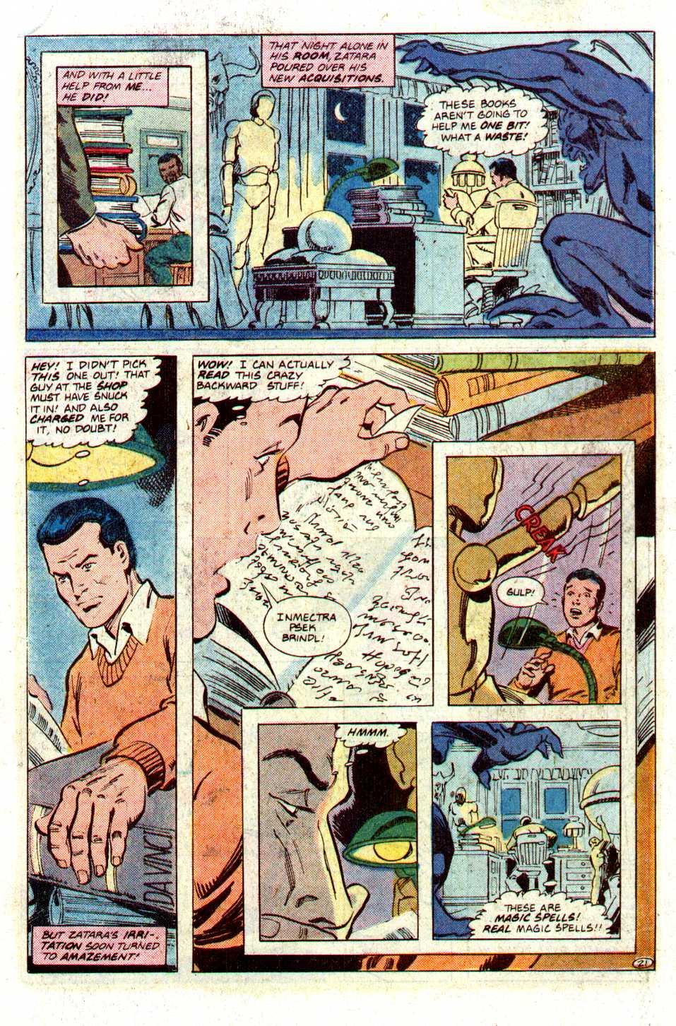 Read online Secret Origins (1986) comic -  Issue #27 - 22