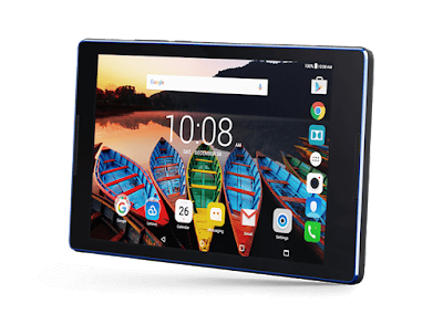 Lenovo Tab3 8 Specifications - LAUNCH Announced 2016, February DISPLAY Type IPS LCD capacitive touchscreen, 16M colors Size 8.0 inches Resolution 800 x 1280 pixels (~189 ppi pixel density) Multitouch Yes BODY Dimensions - Weight 329 g (11.61 oz) SIM Micro-SIM PLATFORM OS Android OS, v6.0.1 (Marshmallow) CPU Quad-core 1.0 GHz Chipset Mediatek GPU  MEMORY Card slot microSD, up to 32 GB (dedicated slot) Internal 16 GB, 1/2 GB RAM CAMERA Primary 5 MP Secondary 2 MP Features Geo-tagging Video Yes NETWORK Technology GSM / HSPA / LTE 2G bands GSM 850 / 900 / 1800 / 1900 3G bands HSDPA 850 / 1900 / 2100 4G bands LTE Speed HSPA 21.1/5.76 Mbps, LTE Cat4 150/50 Mbps GPRS Yes EDGE Yes COMMS WLAN Wi-Fi 802.11 b/g/n, hotspot GPS Yes, with A-GPS USB microUSB v2.0 Radio No Bluetooth v4.0 FEATURES Sensors Accelerometer Messaging SMS(threaded view), MMS, Email, Push Mail, IM Browser HTML5 Java No SOUND Alert types Vibration; MP3, WAV ringtones Loudspeaker Yes, dual speakers 3.5mm jack Yes  - Dolby Atmos BATTERY  Non-removable Li-Ion 4290 mAh battery Stand-by  Talk time  Music play  MISC Colors Black, White  - MP3/WAV/WMA/AAC player - MP4/H.264 player - Document viewer - Photo viewer/editor