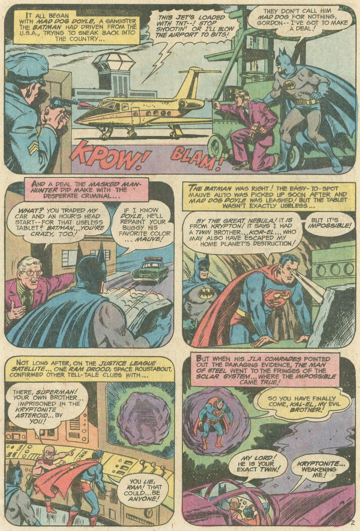 Read online World's Finest Comics comic -  Issue #247 - 5