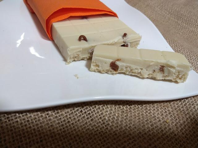 Turrón De Chocolate Blanco Y Dulce De Leche