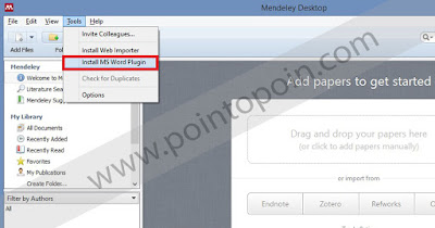 Meng-install Plugin Microsoft Word