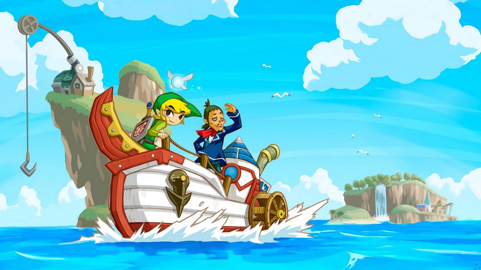 1080p Zelda Wallpaper: NinjaPixel Blog: Gamer Wallpaper