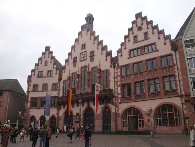 Alemanha: as prefeituras mais maravilhosas! Frankfurt