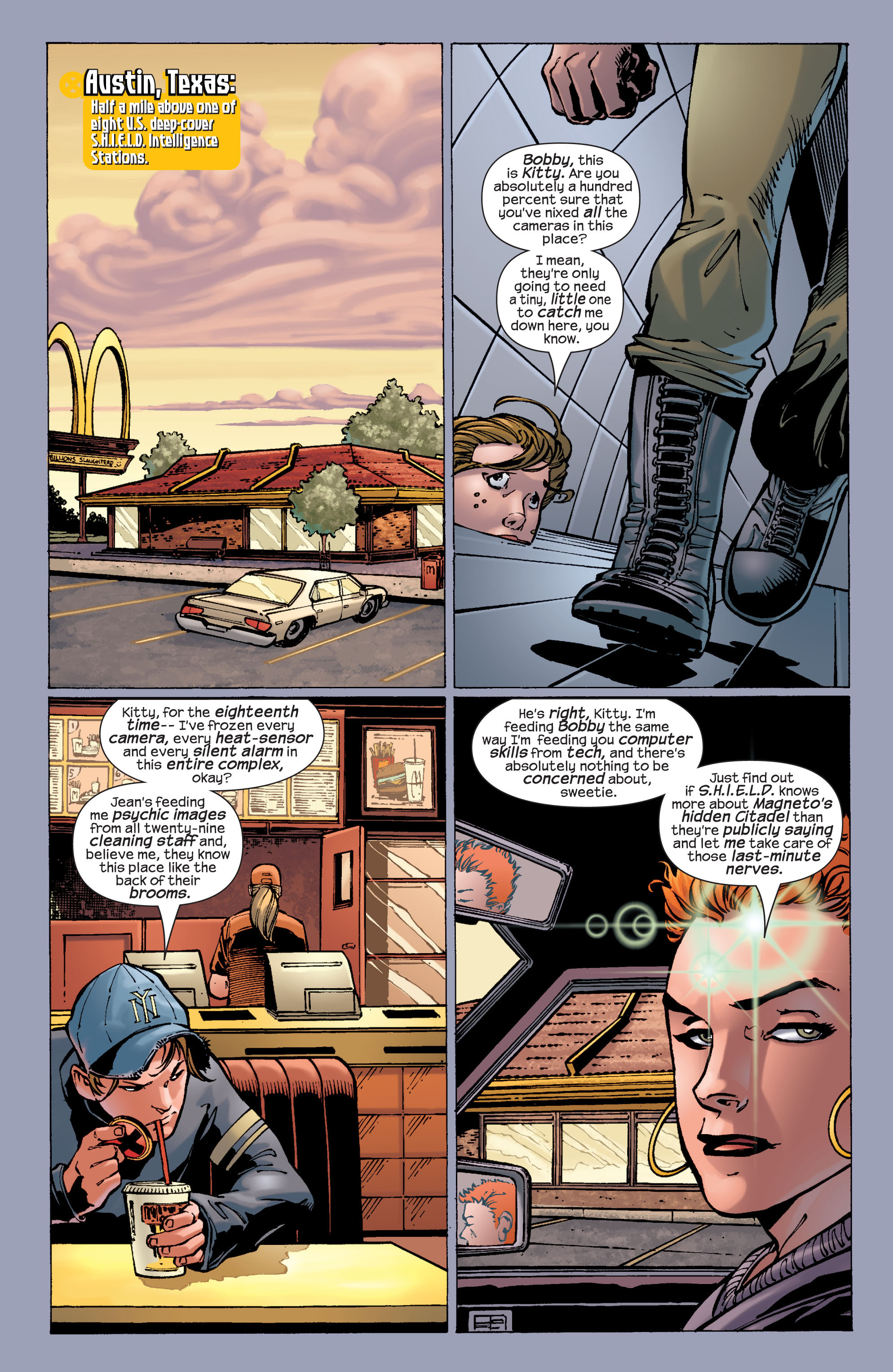 Read online Ultimate X-Men comic -  Issue #29 - 8