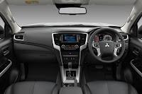 Mitsubishi L200 / Triton Double Cab (2019) Dashboard