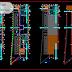 مخطط مشروع محطة حافلات صغيرة اوتوكاد dwg