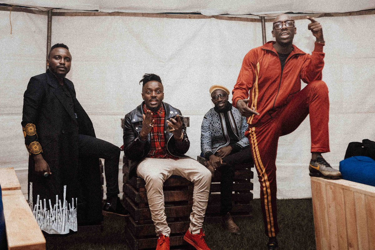 Sauti Sol Responds To Allegations They Pay Models With Food
