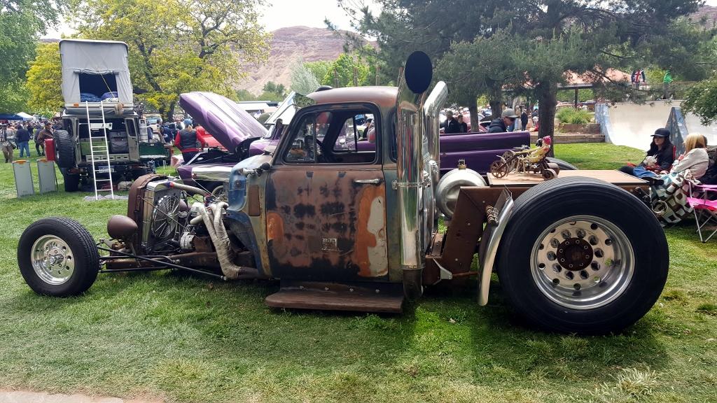 Fulltime RVer Moab Car Show - Moab utah car show