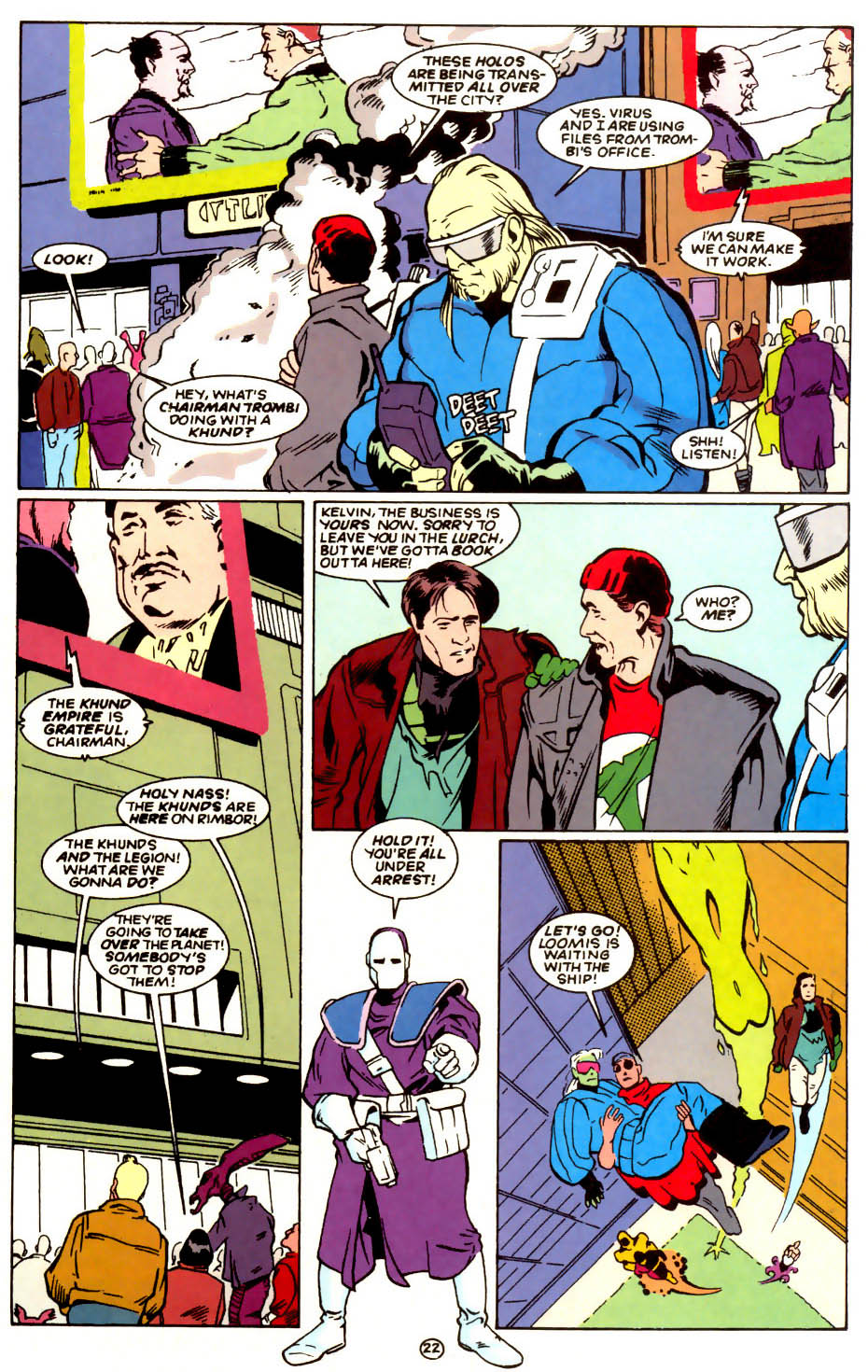 Legion of Super-Heroes (1989) 56 Page 22