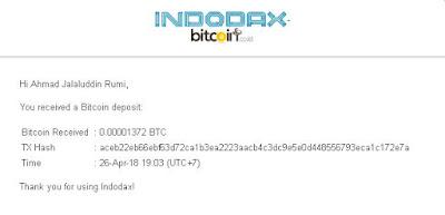 CryptoTab Scam atau Legit ? Bukti Pembayaran Ke 4