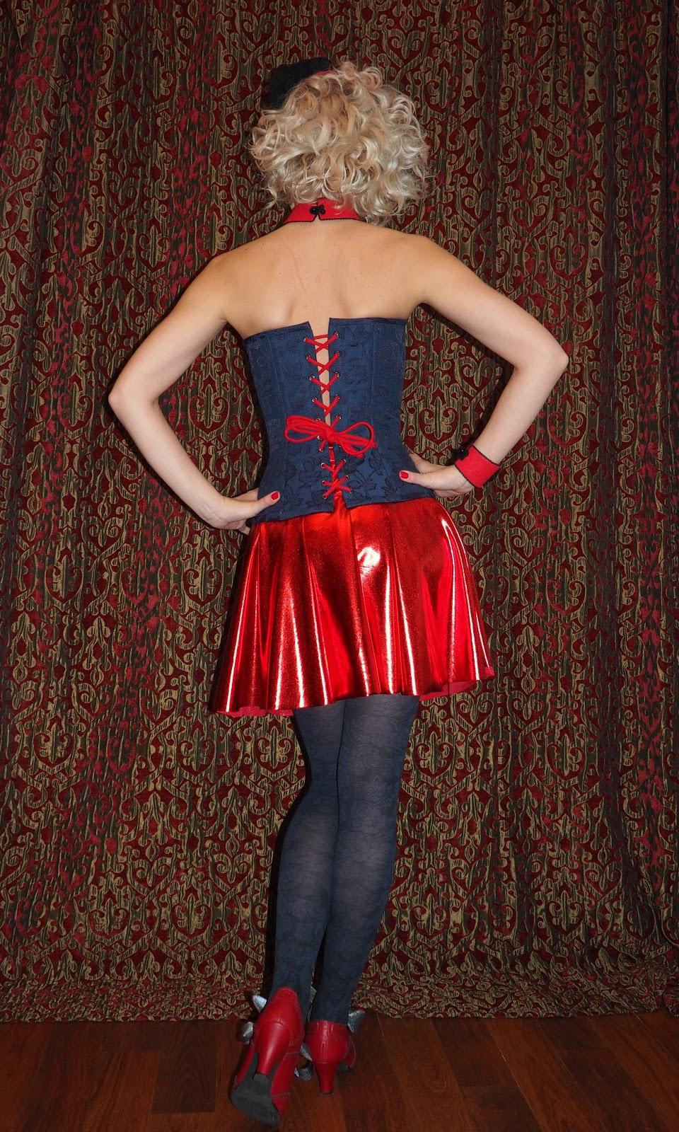 burlesque, buttons, choker, corset, fascinator, Gaultier, Glasgow, Glasgow Clyde College, goth, Madonna, shoes, skirt, soutache, tights, vegan, soutache, Vegetarian Shoes,