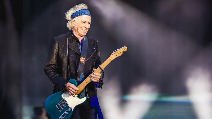 Keith Richards confirma nuevo álbum de The Rolling Stones.