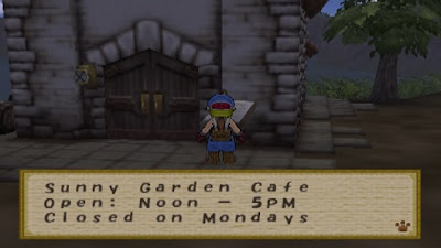 Sunny Garden Cafe Harvest Moon: Save The Homeland