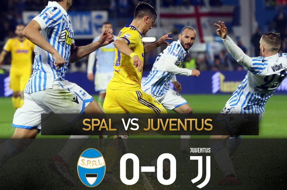 Incredibile a Ferrara: La Spal ferma la corsa della Juventus che sale +5 dal Napoli in classifica