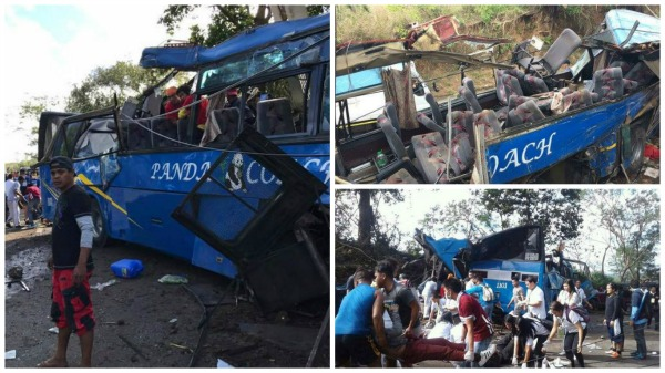At least 14 passengers reportedly killed in Tanay bus accident