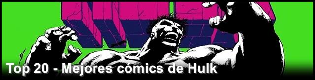 Top cómics de Hulk