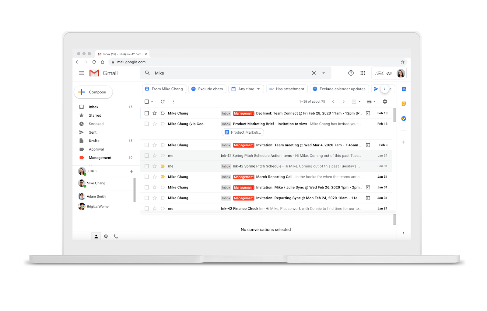 'Search chips' coming to Gmail on the web - Digital Information World