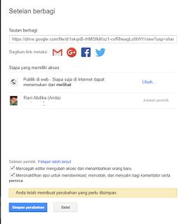 Cara Memasukkan Video dari Google Drive ke Blog
