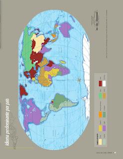 Apoyo Primaria Atlas de Geografía del Mundo 5to. Grado Capítulo 3 Lección 2 Idioma Predominante por País