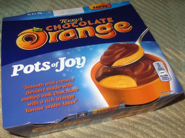 Foodstuff Finds Terrys Chocolate Orange Pots Of Joy