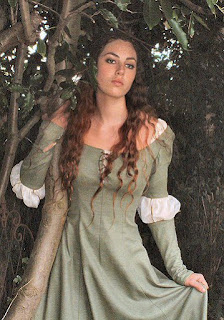 d5a734c98c Medieval Chapter Bridal Wedding Gowns Part Desire --- Long Sleeves