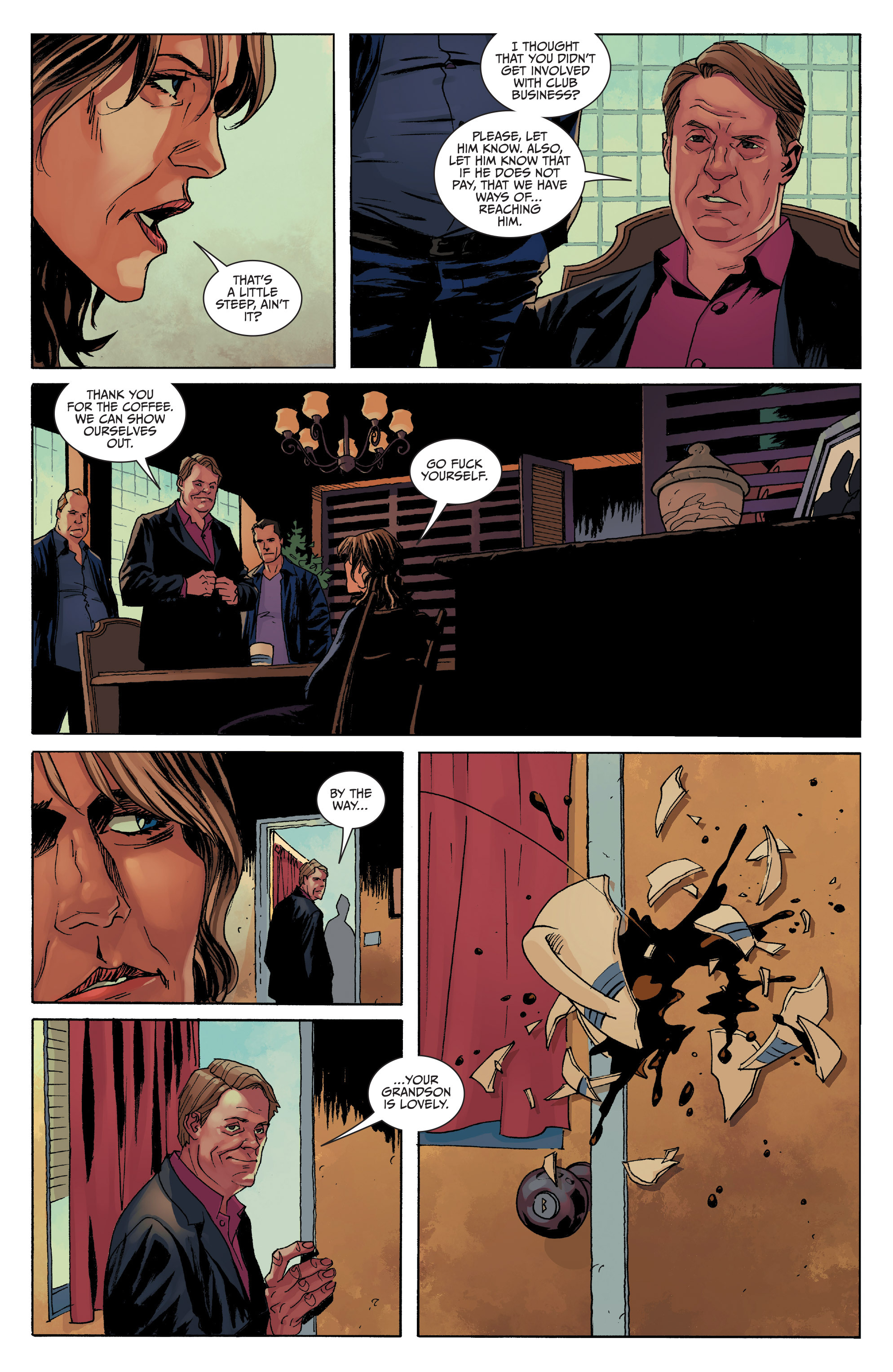 Read online Sons of Anarchy comic -  Issue #8 - 15