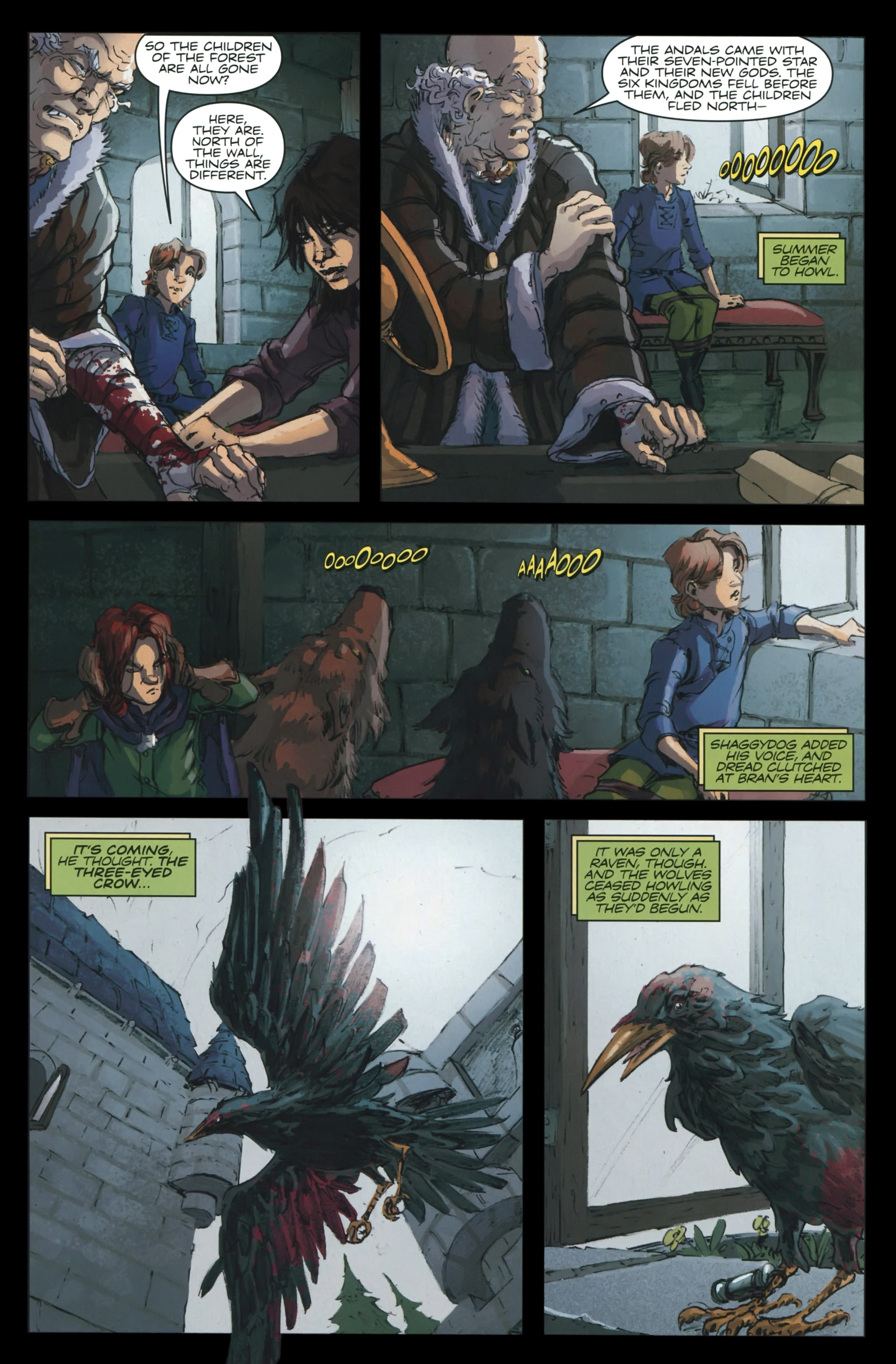 Read online A Game Of Thrones comic -  Issue #23 - 11