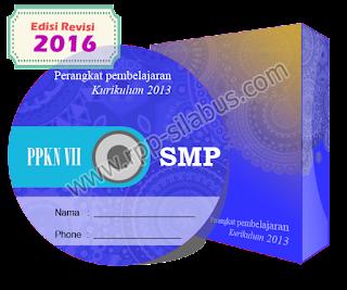 Jual RPP PPKN Kelas VII SMP Kurikulum 2013 Revisi 2016