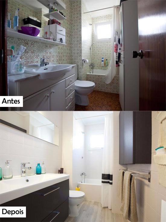Seu banheiro pode ser lindo! Olhe para estas transformações e surpreenda-se