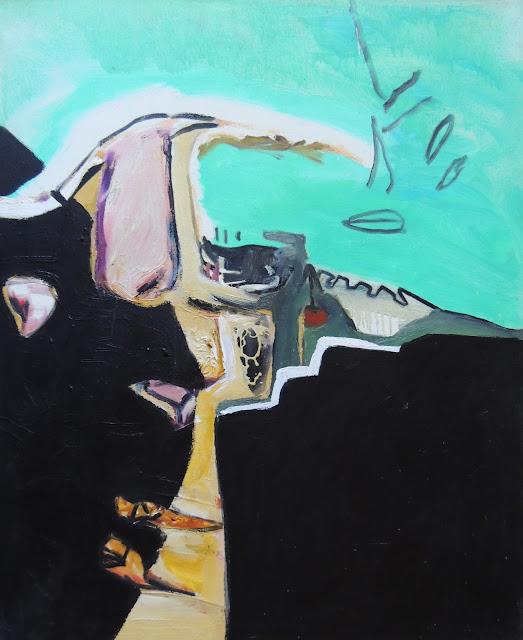 Elena Gastón pintura expresionista Barcelona