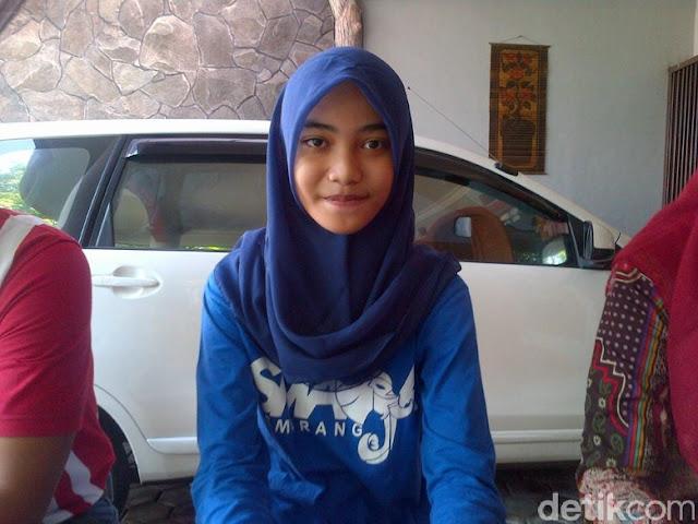 Inilah Iren Mahasiswi Fakultas Kedokteran (FK) Unair Termuda di Usia 15 Tahun