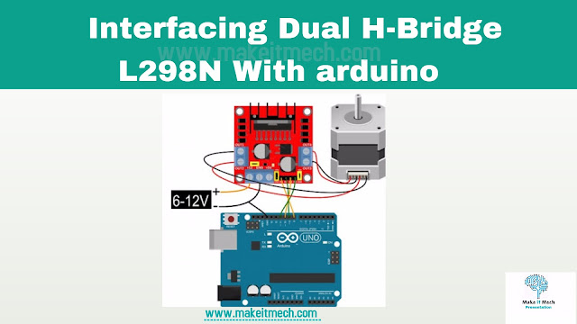 how to interface l298n h bridge with arduino