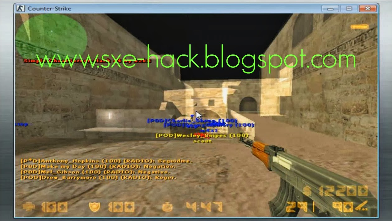 hack para el counter strike 1.6 no steam