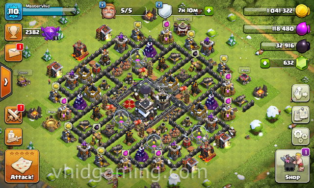 clash of clans christmas ingame