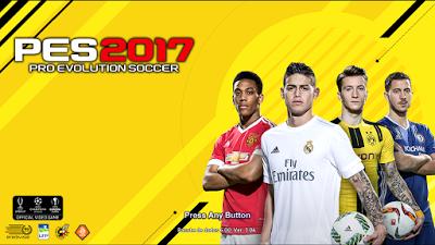 PES 2013 Start Screen Tema PES 2017