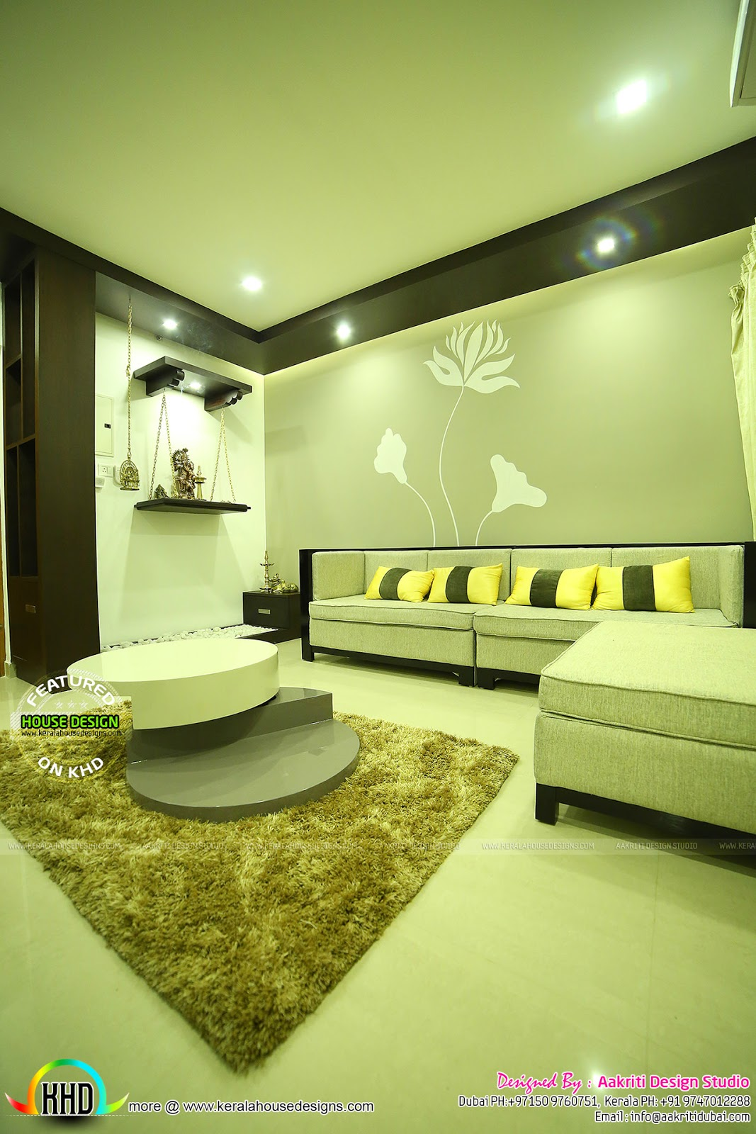 Finished Interior Designs In Kerala: Finished Interior Photos From Kannur, Kerala