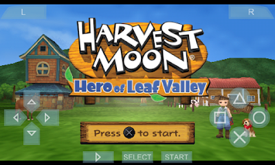 Kumpulan Cheat Harvest Hero Moon Leaf OF Valley PPSSPP PSP