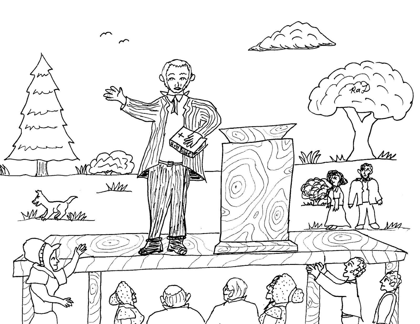 Robin S Great Coloring Pages Joseph Smith And Brigham Young