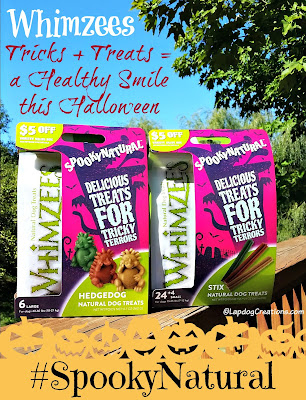 whimzees dog chews for halloween