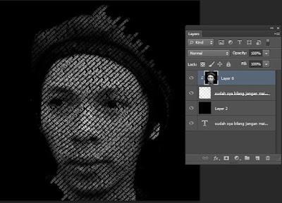 membuat foto menjadi hitam putih