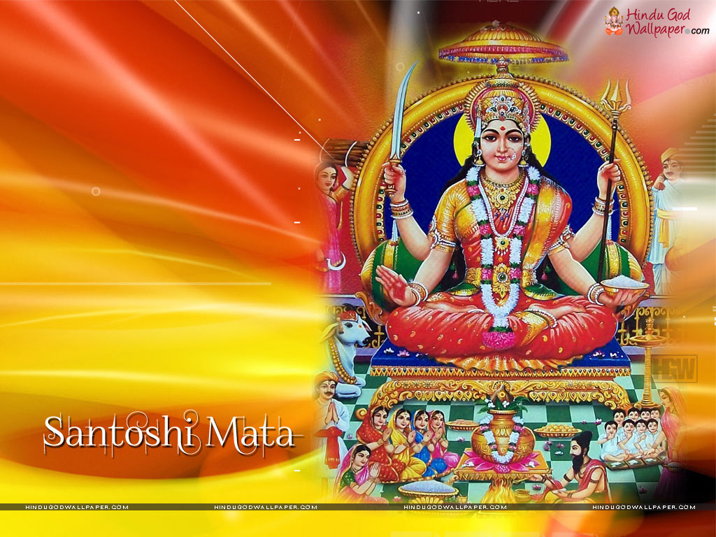 Wallpaper download mata rani - Jai Santoshi Maa Still Image Photo Picture Wallpaper