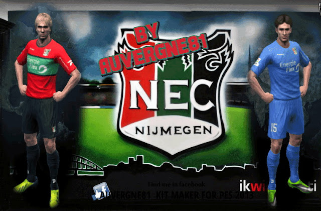 PES 2013 NEC Nijmegen GDB 2016/2017 by Auvergne81