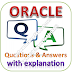ORACLE Written Test: Technical Aptitude; Questions and Answers with Explanations PDFs