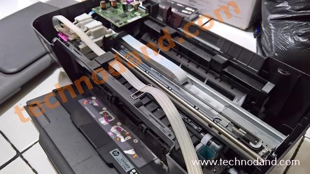 Cara Pasang Infus pada Printer Hp deskjet 1000 series - J110a