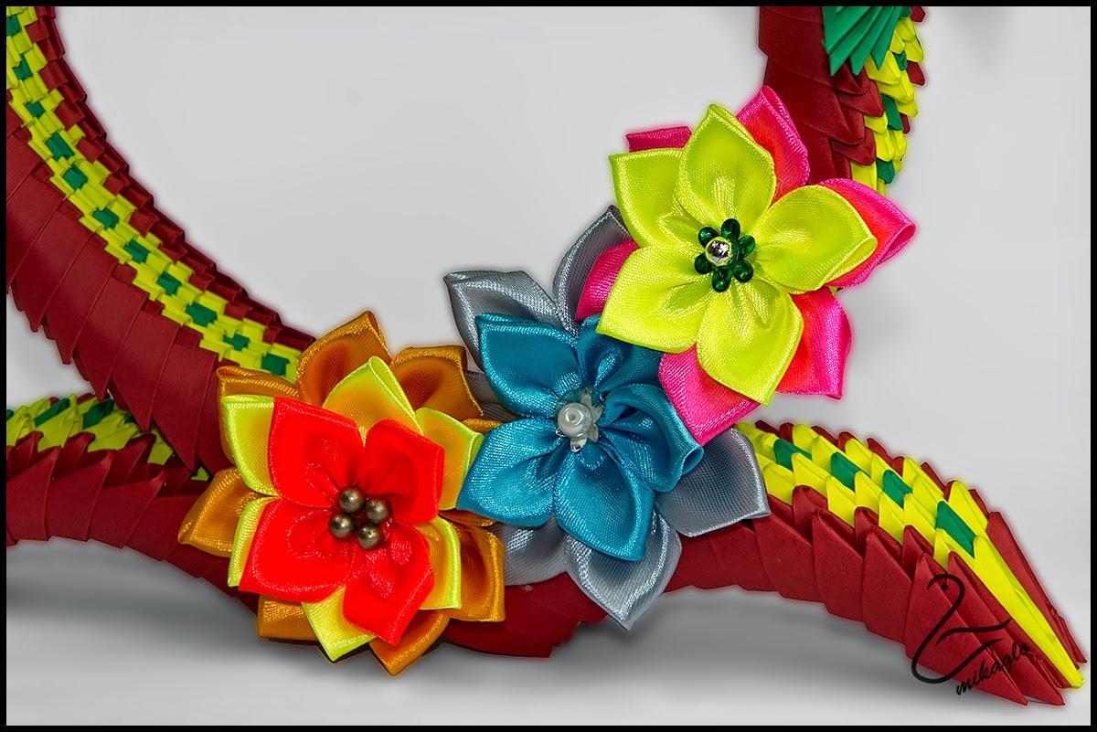 Origami 3d - mikaglo: 75. Serce dla Mamy z origami / 3d ... - photo#50