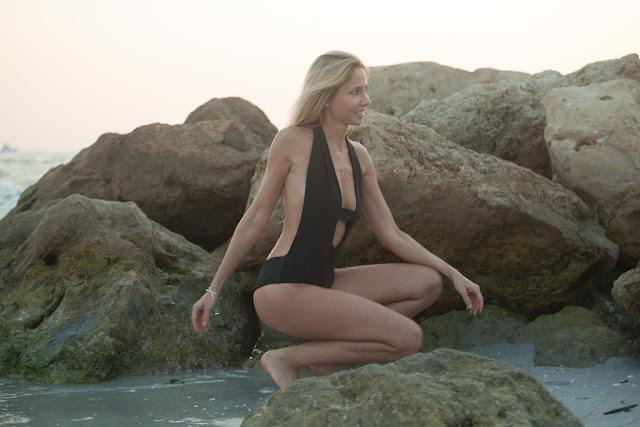 one-piece, one pieces, one piece swimsuit, swimwear, bikinis, beach, coverage, sunset, palm trees, rocks, sexy one-piece, style, fashion, trend, smile, be free, florida, florida life, fun, sun, photoshoot, model, blog